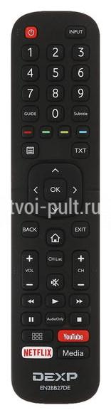 Dexp EN2BB27DE пульт для телевизора